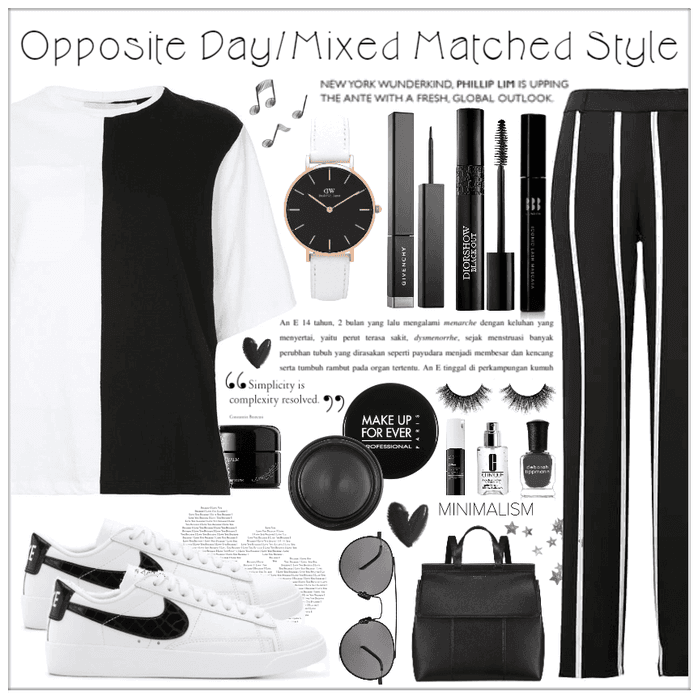 Opposite Day/Mixed Matched Style