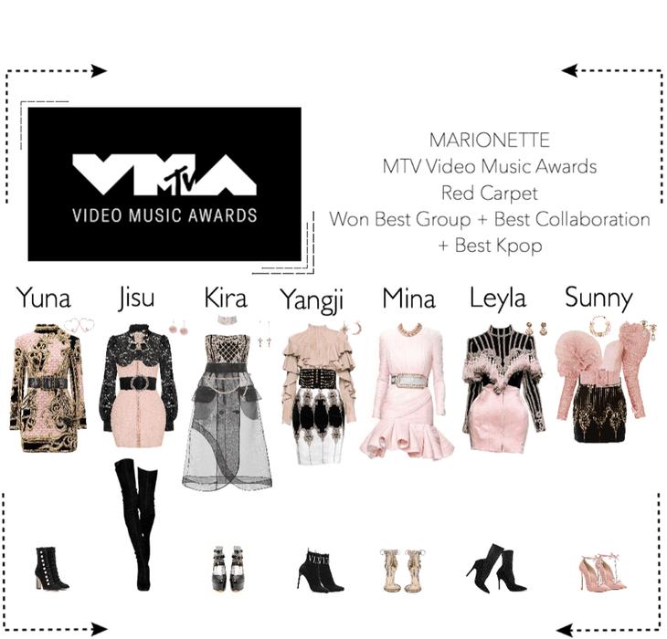 MARIONETTE (마리오네트) MTV Video Music Awards | Red Carpet
