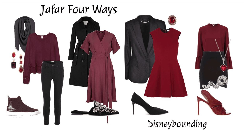 Jafar Four Ways | Disneybound