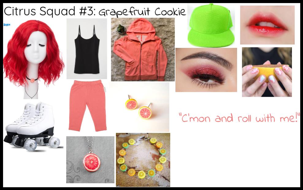 Citrus Squad #3: Grapefruit Cookie