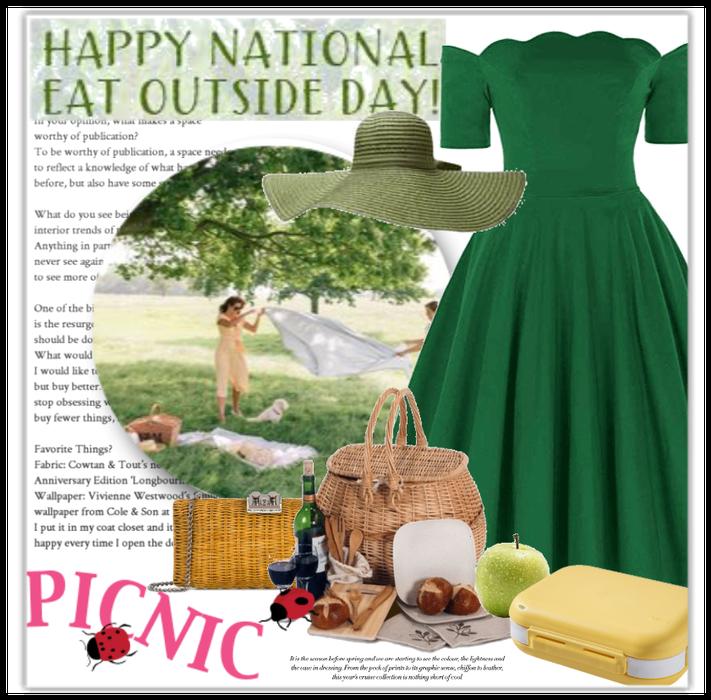 Nat. Eat Outside Day: Picnic Style
