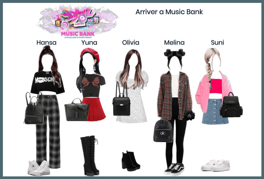 Arriver a Music Bank