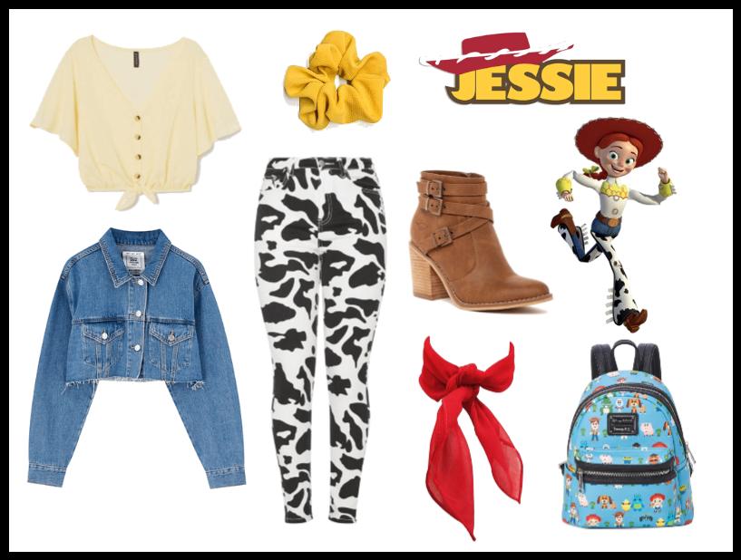 Jessie (Toy Story) - Disneybound