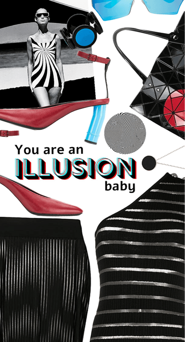 You're an illusion