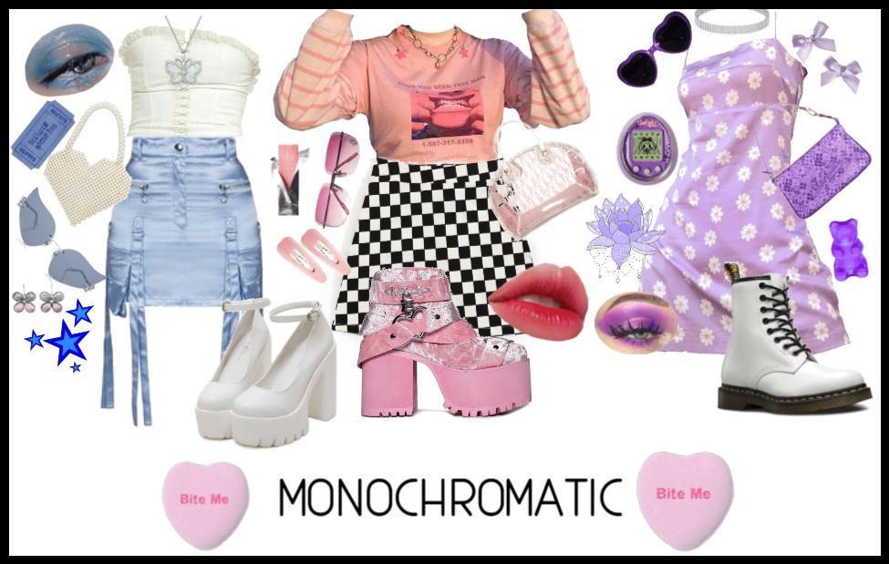 Monochromatic Lewks