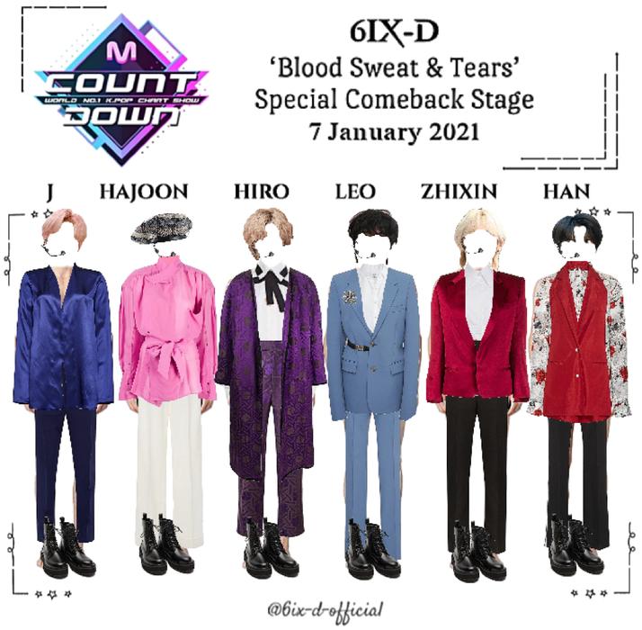 6IX-D [씩스띠] M Countdown 210107