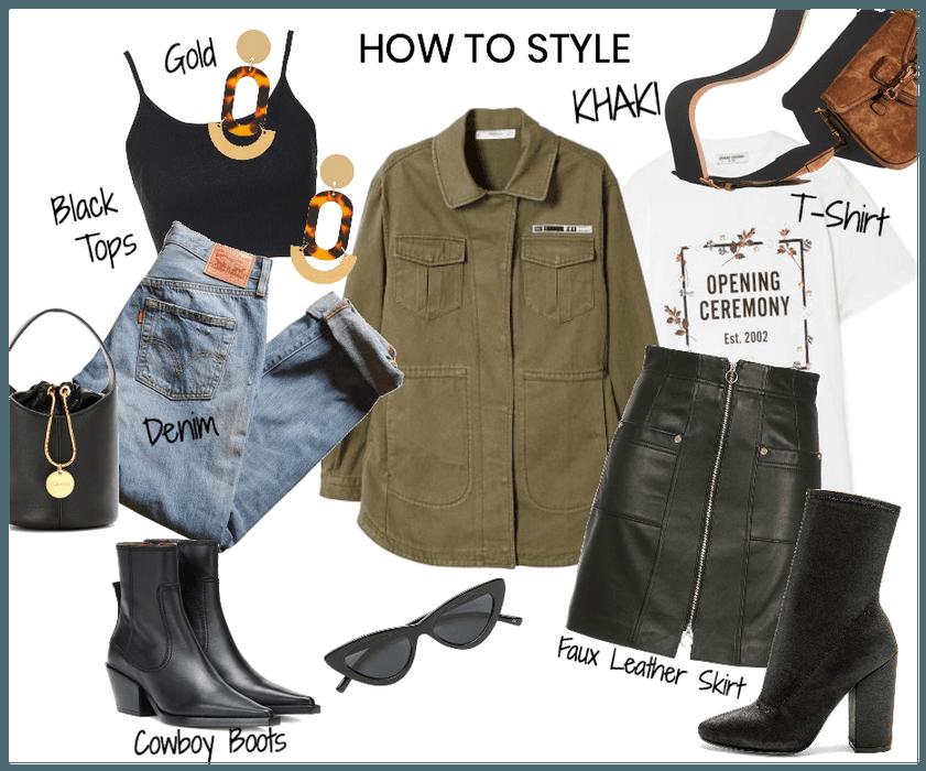 How to style khaki