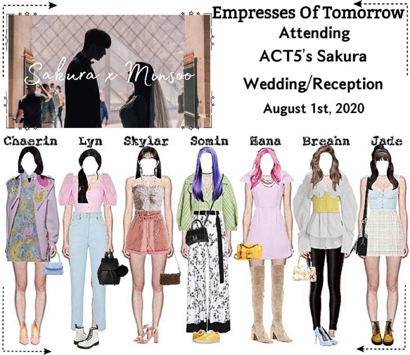 EOT(내일의 황후)   Attending ACT5 Sakura's Wedding
