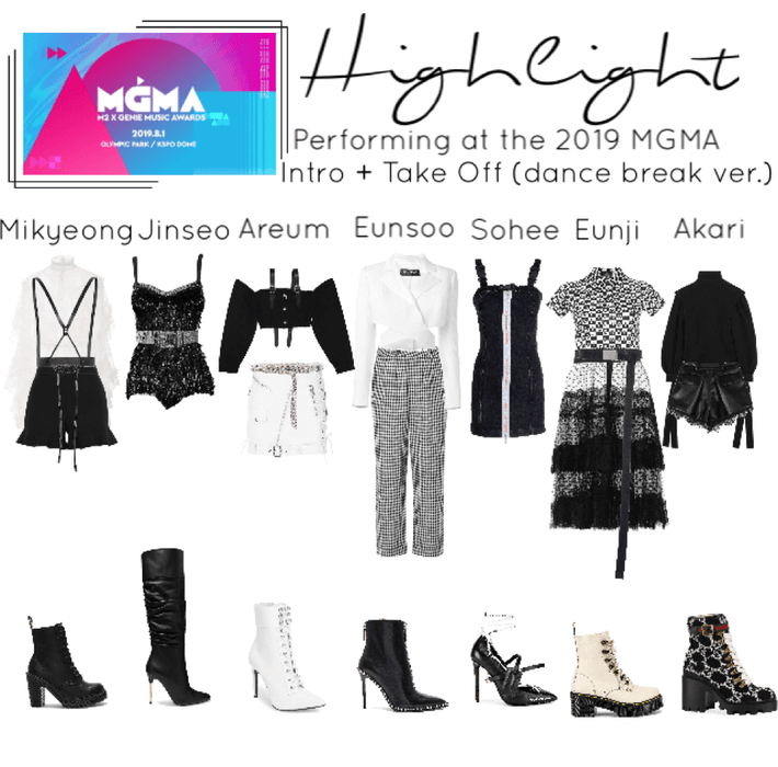 2019 MGMA performance outfits - Take Off