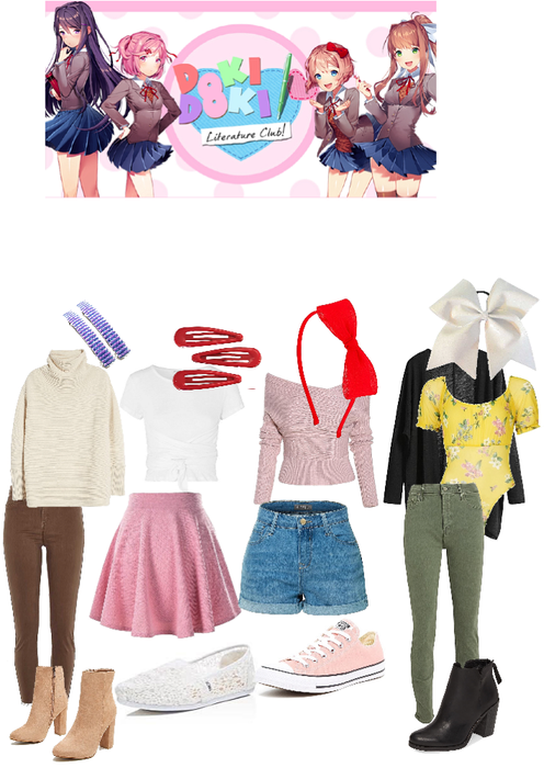 DDLC Casual Outfits