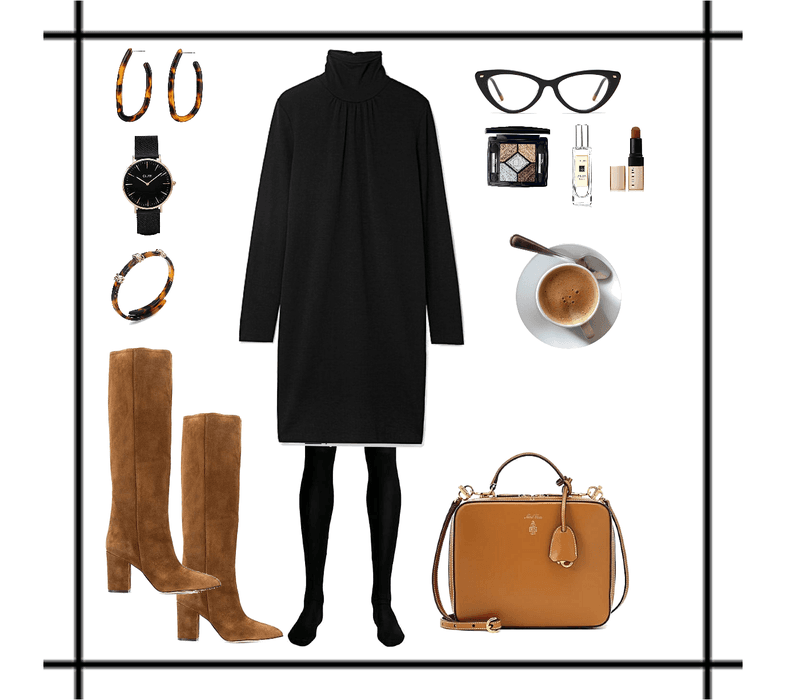 Easy autumn work outfit