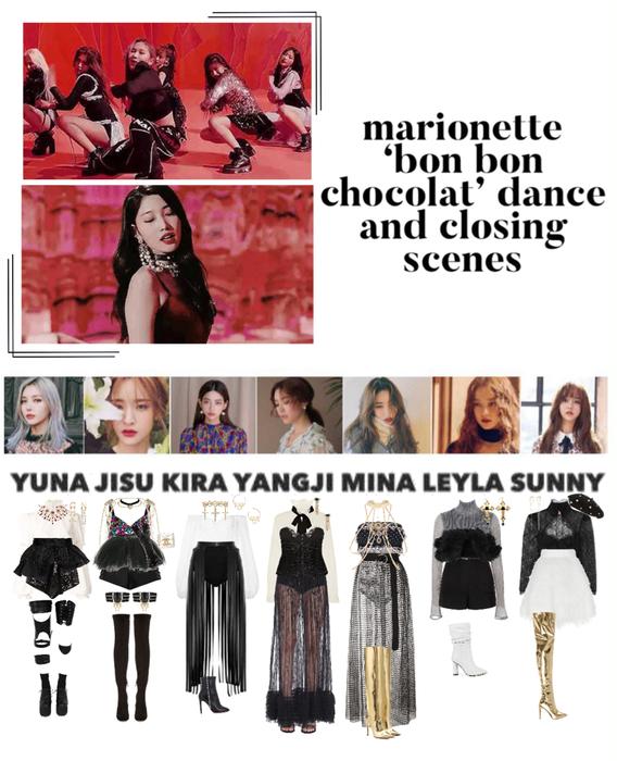 {MARIONETTE} 'Bon Bon Chocolat' M/V Dance & Closing Scenes