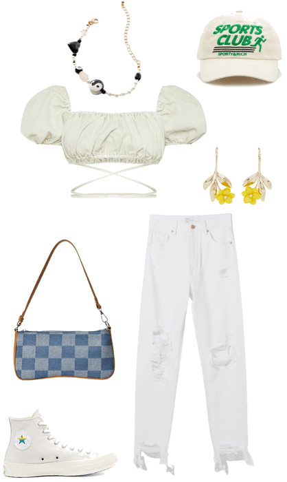hangout with softy girl outfit