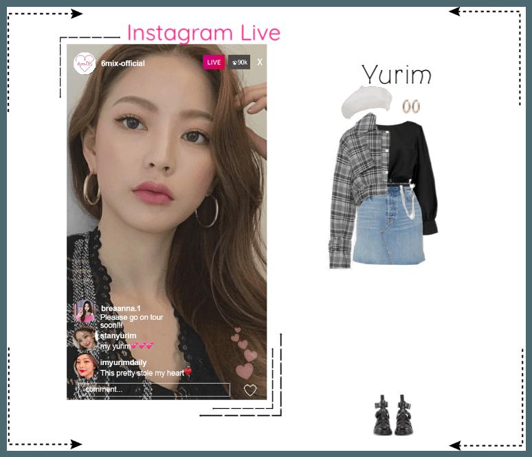 《6mix》Instagram Live - Yurim