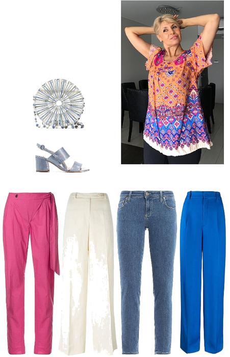 Blusa multicolor