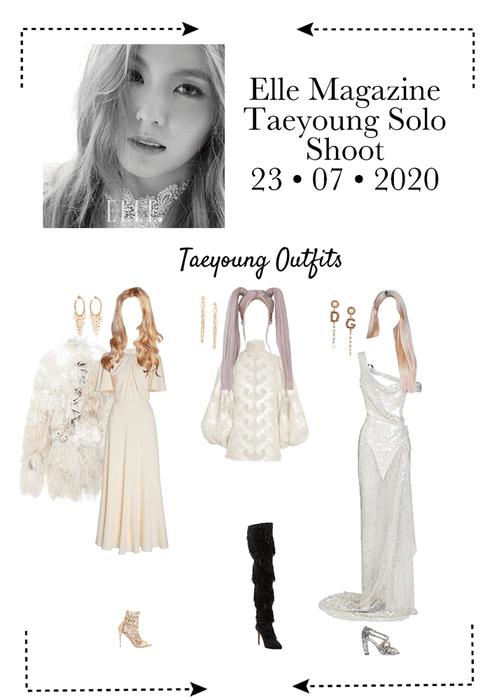Elle Korea - Taeyoung Photoshoot