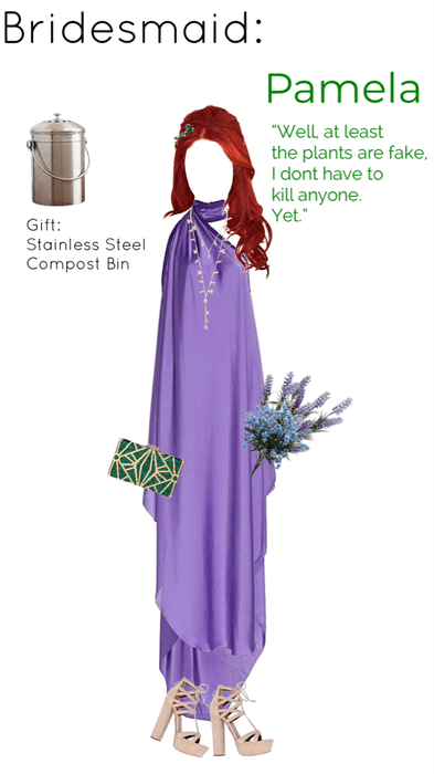 Pamela's Bridesmaid Outfit