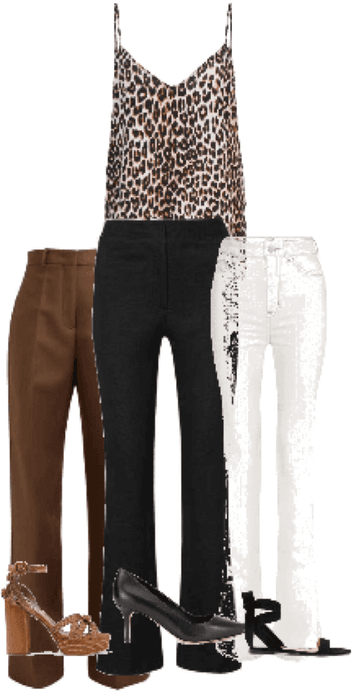 Outfit animal print musculosa