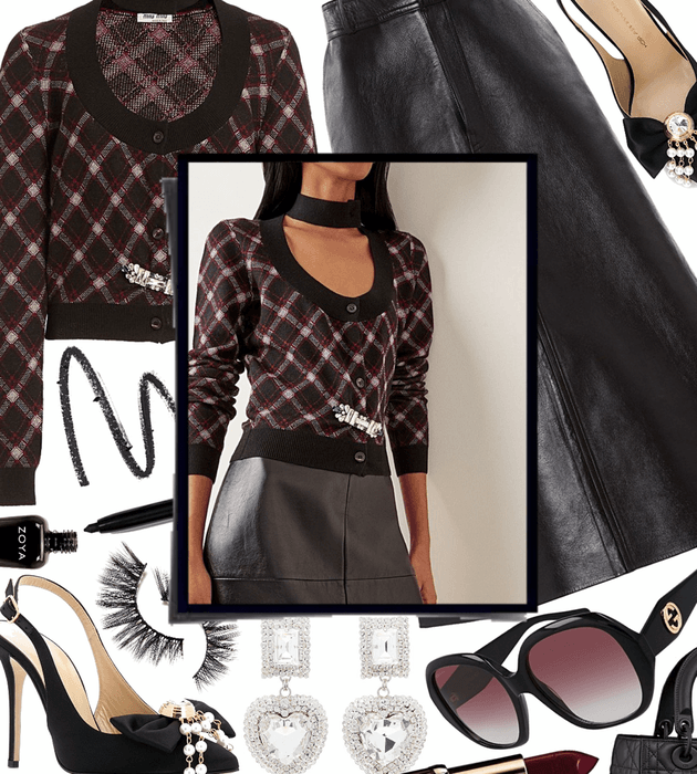 FALL 2020: Leather Skirt Style
