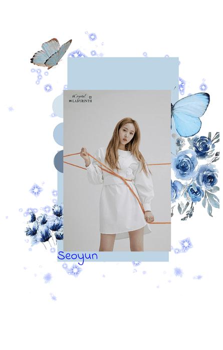 Seoyun photoshoot for LABYRINTH