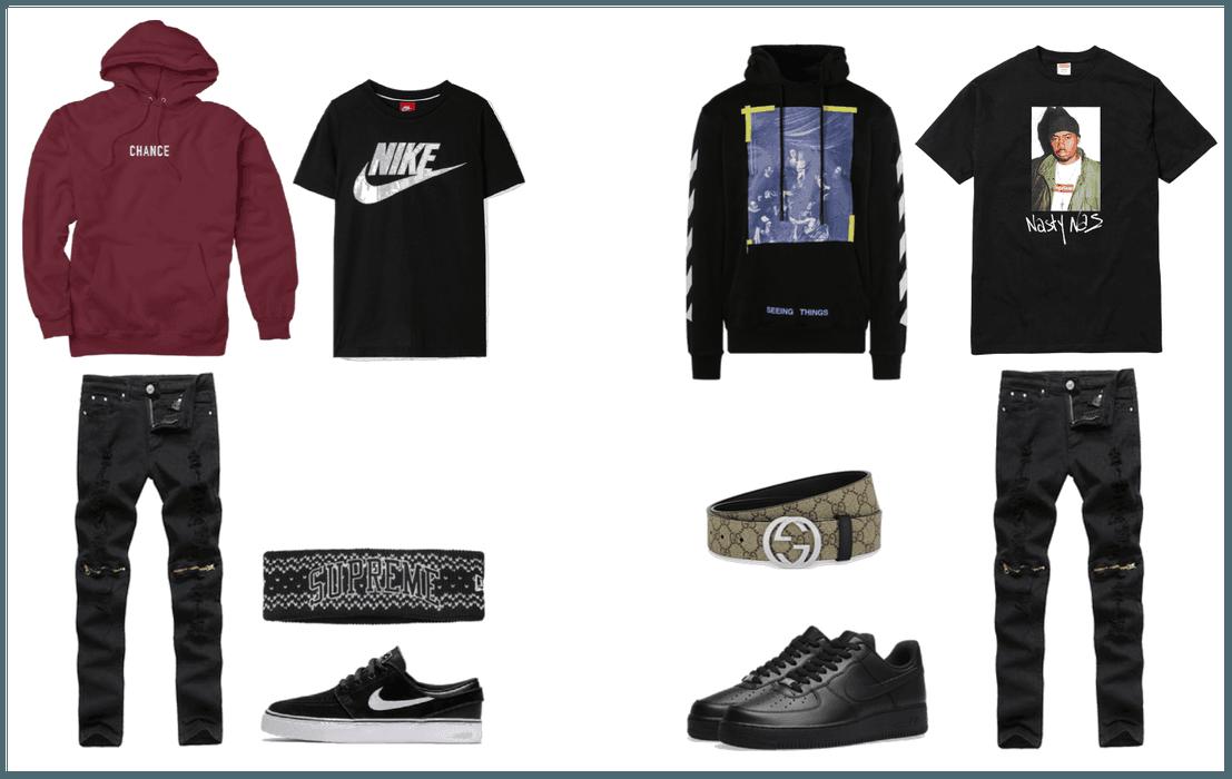 Black Af1's Outfit | ShopLook