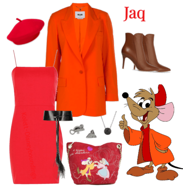 Jaq outfit - Disneybounding - Disney