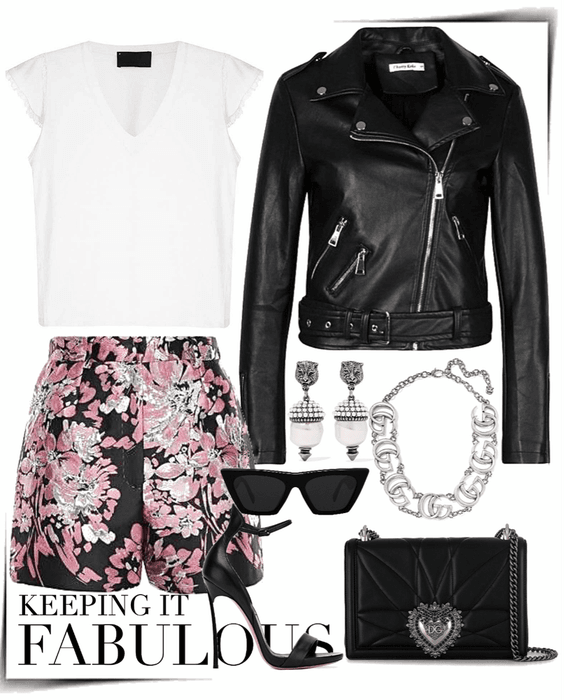 sweet and edgy style
