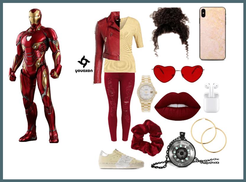 Iron Man Disney Bound
