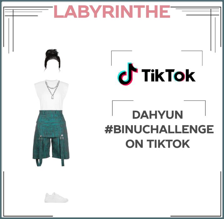 Dahyun TIKTOK binu challenge