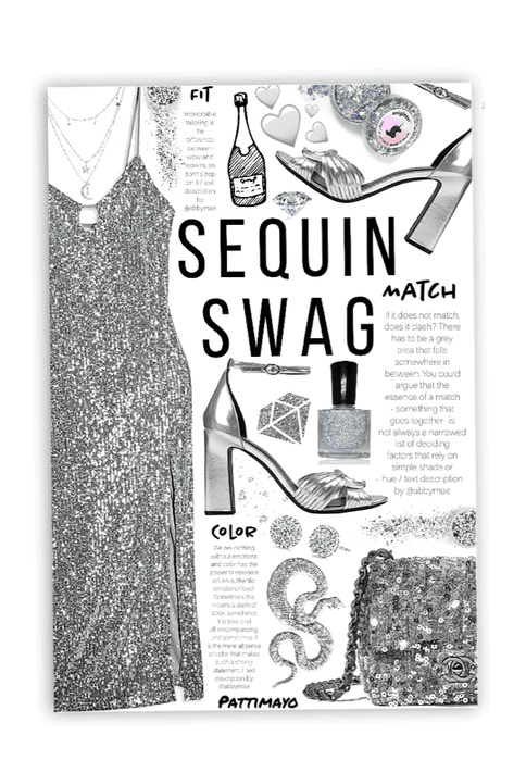 SEQUIN SWAG 🤍