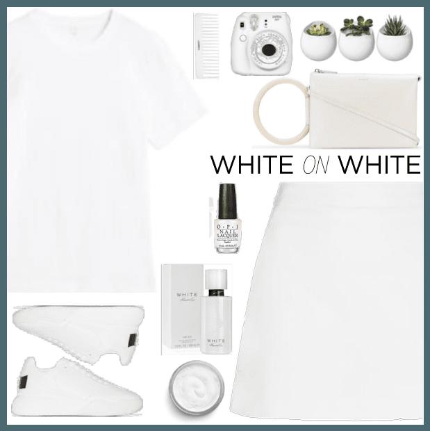 white tee org