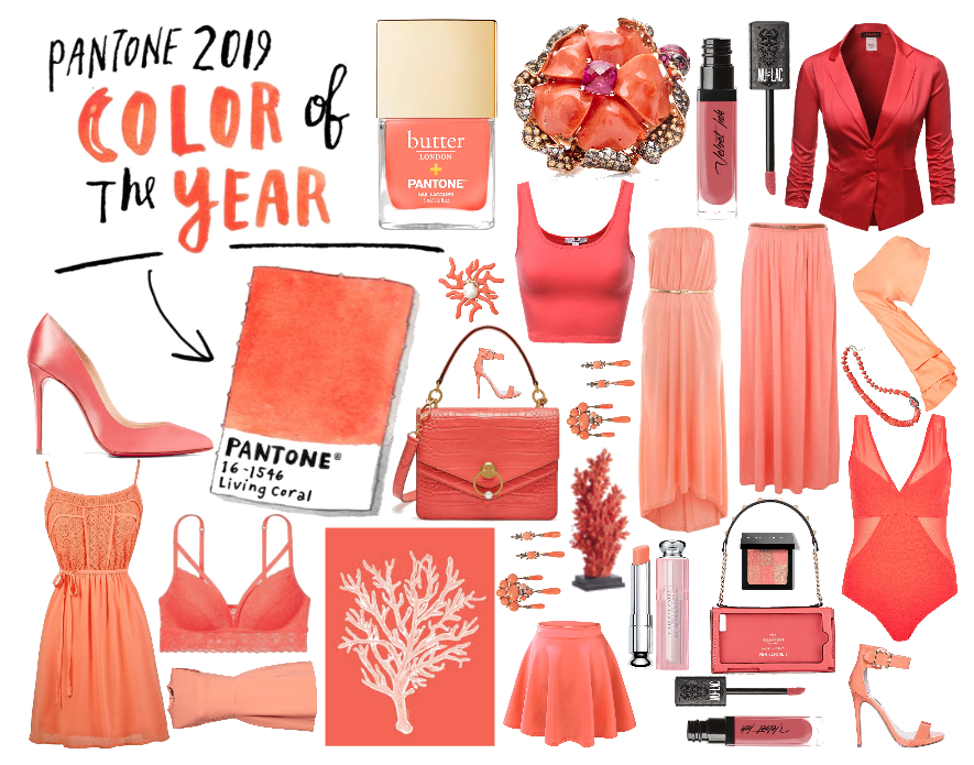 Pantone Color of the Year 2019: Living Coral