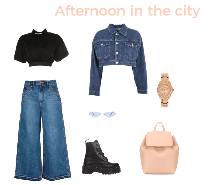 Afternoon in the city