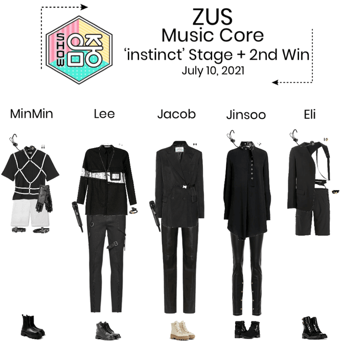 ZUS//'instinct' Music Core Stage + 2nd Win