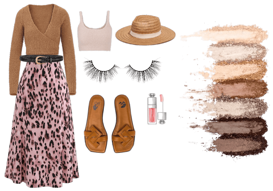 Neutral with Pink Spring