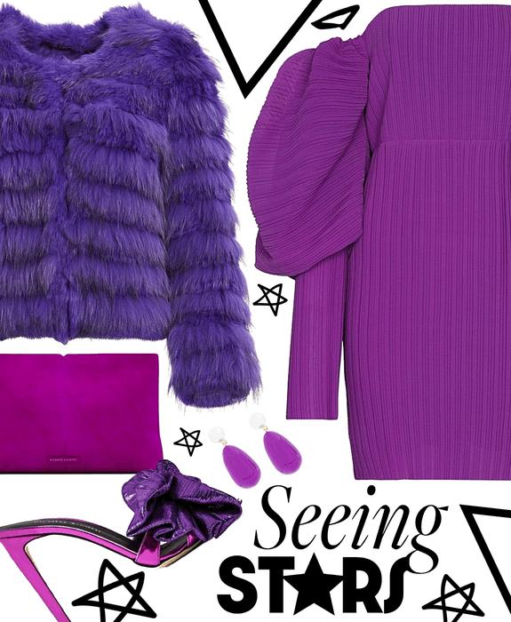 seeing violet stars