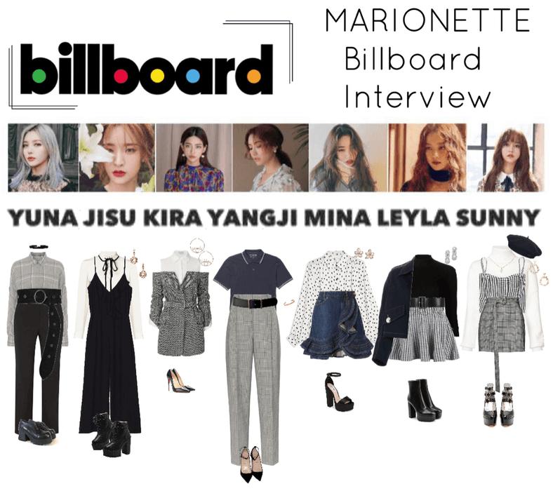 {MARIONETTE} Billboard Interview