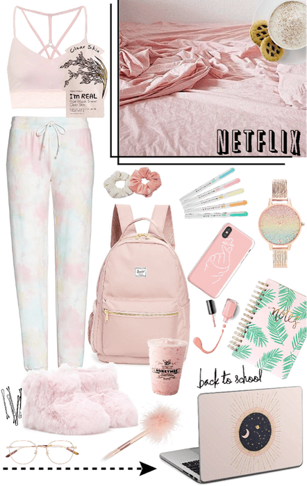 Home school in pink 🍡