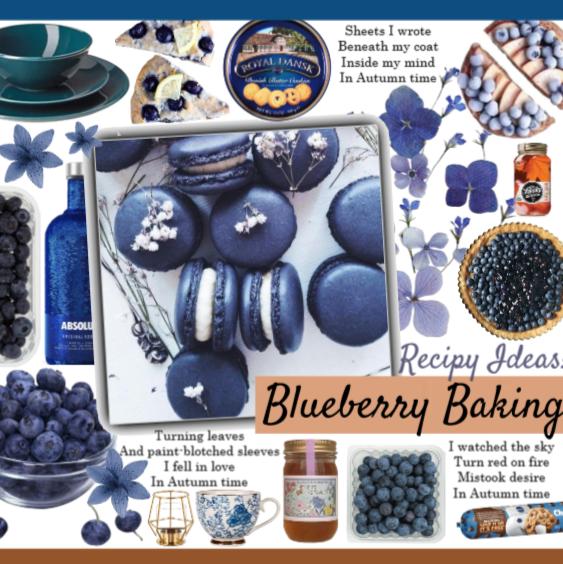 Blueberry Baking