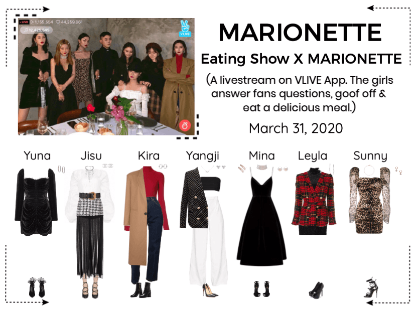 MARIONETTE (마리오네트) Eating Show x MARIONETTE