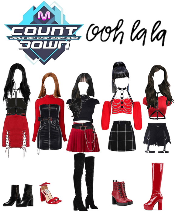 Ooh La La - RO5EY Mcountdown debut stage