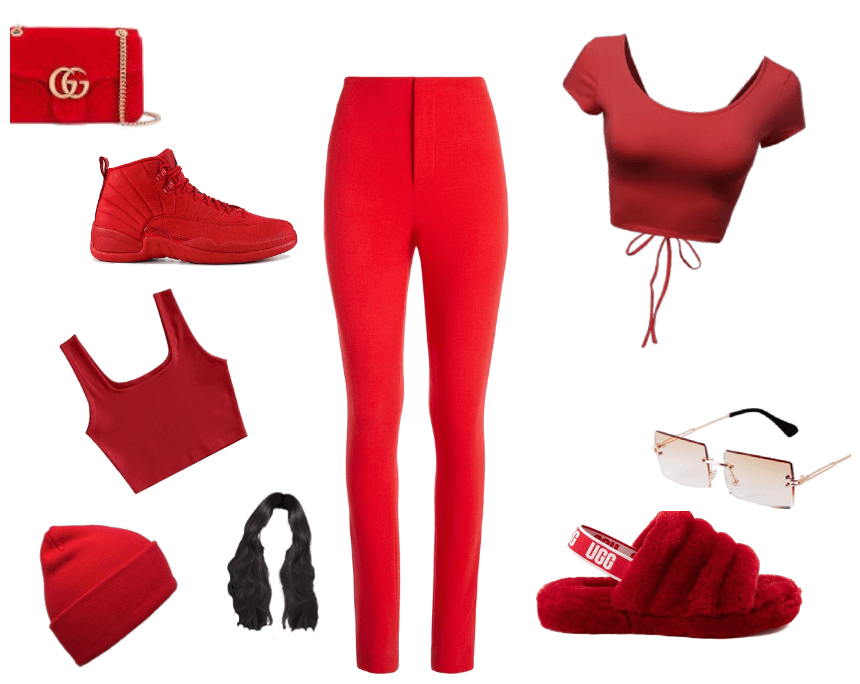 For All The Red LOvers