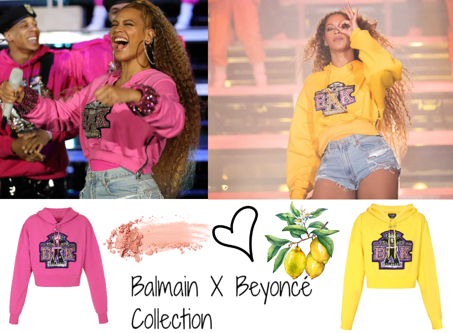 Balmain X Beyoncé Collection 2018