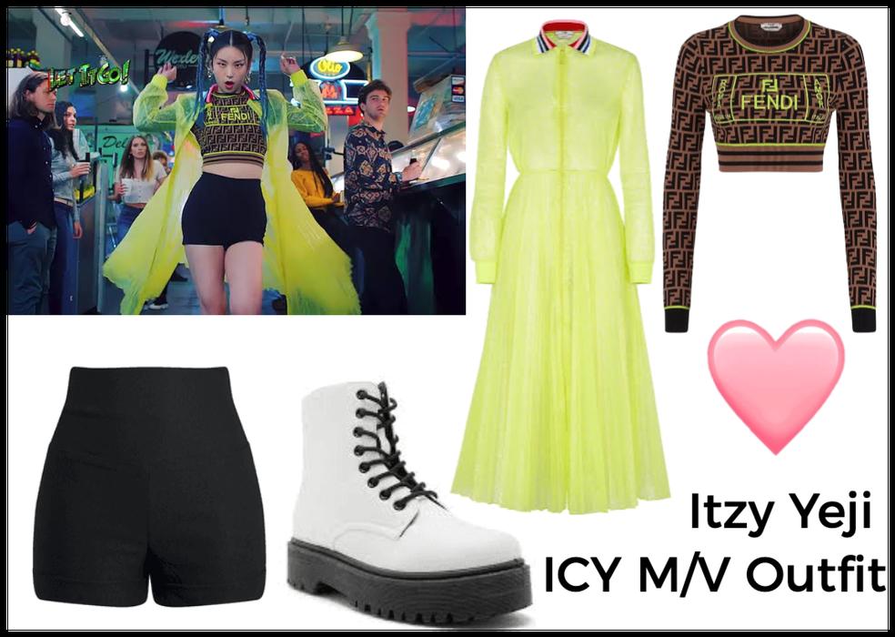 Itzy Yeji ICY M/V