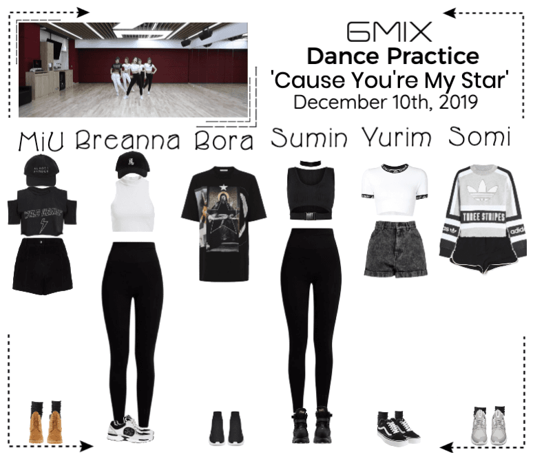 《6mix》'Cause You're My Star' Dance Practice
