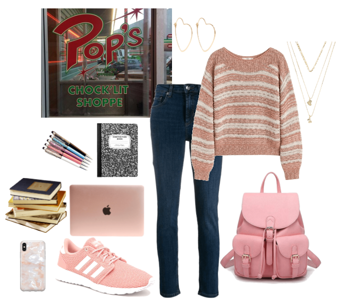 Riverdale: Preppy Pink Outfit