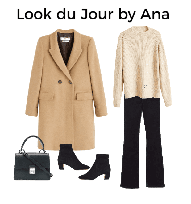CASUAL CHIC CAMEL & BLACK