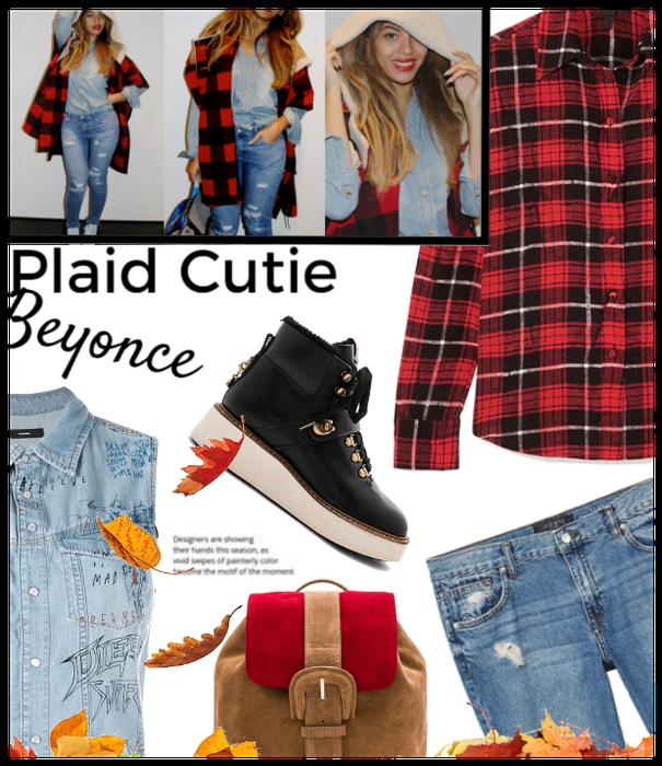 Plaid Cutie: Beyonce