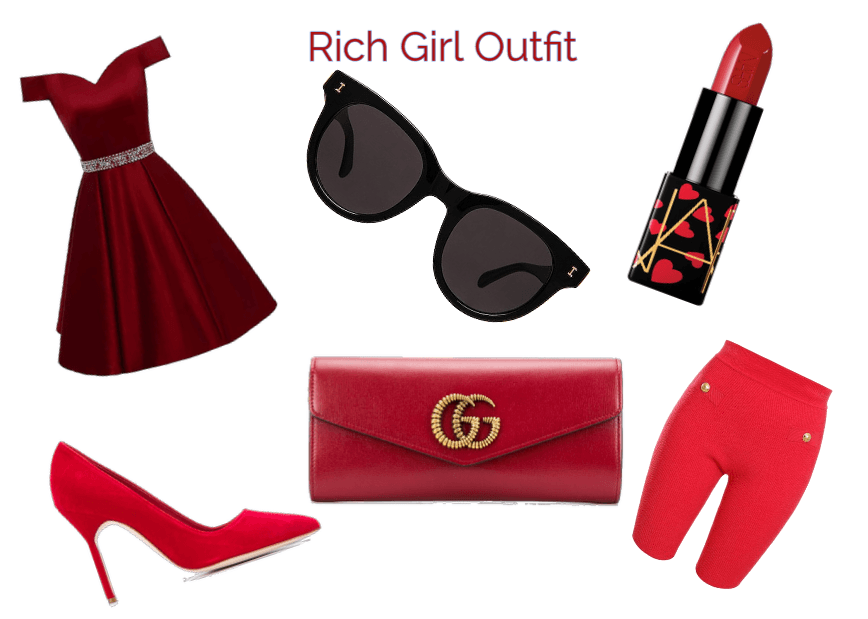 Rich Girl Outfit