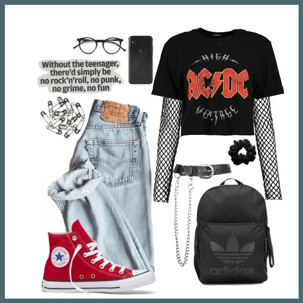 Grunge teenager